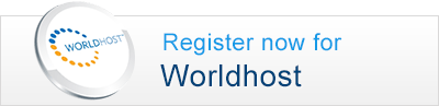 Register today for Worldhost